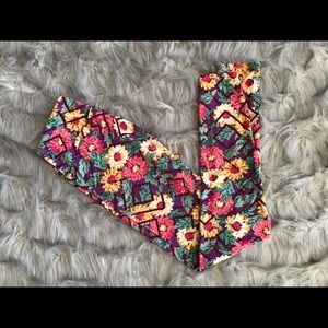 LuLaRoe floral leggings